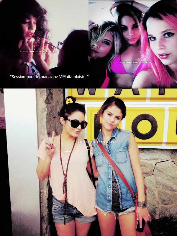 16.05.2012 Vanessa à éte vu pour allez déjeuner avec sa mère Gina et Austin à Gindi Thai de Burbank en Californie ! TOP ou FLOP?