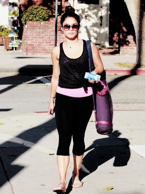 22.05.2012 Vanessa a été vue en sortant de sa salle de yoga à Studio City! TOP ou FLOP?