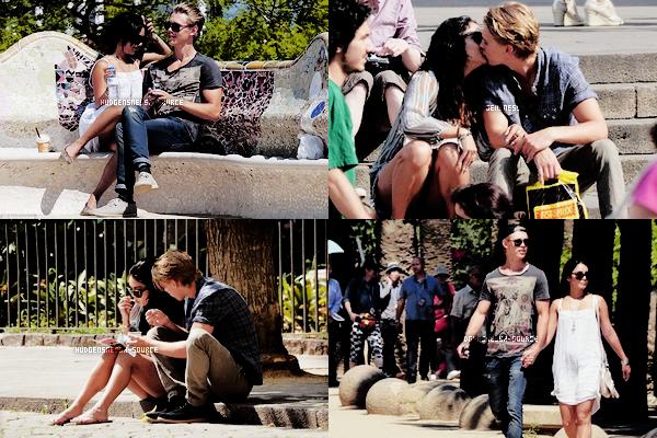 31.05.2012 Vanessa étaient a Barcelone avec son Amoureux Austin. TOP ou FLOP ?