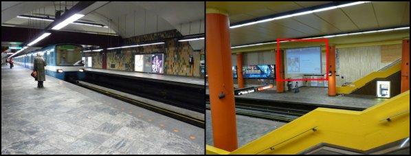 Le métro à Montréal