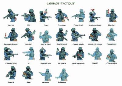 Language tactique.