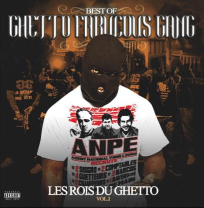 """LA 2em POCHETTE DU CD BEST OF GHETTO FABULOUS GANG """"LES ROIS DU GHETTO"""""""