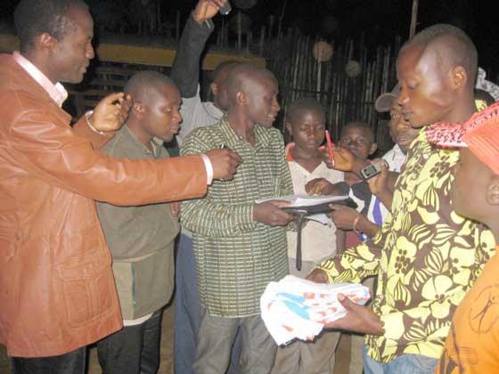 Arman Vision News: Butembo: 100 000 Signatures contre la révision constitutionnelle