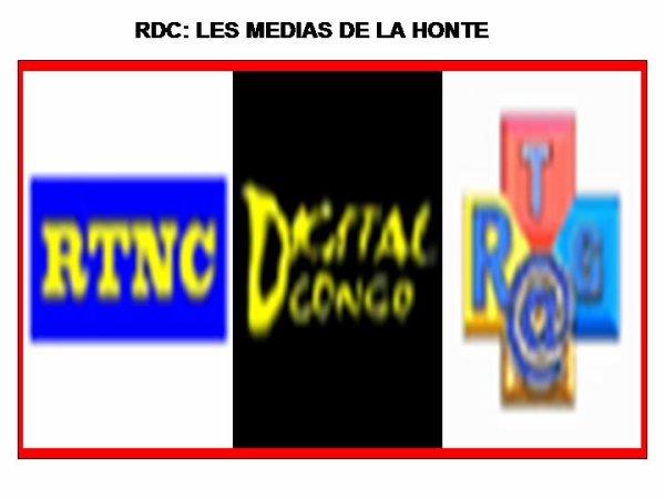 ARMAND VISION NEWS :   LES MEDIAS DE LA HONTE (RTNC,RTGA,DIGITAL CONGO)