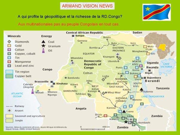 ARMAND VISION NEWS :   JOSEPH KANAMBE KABANGE VIENT DE TOTALISER 10 ANS CHEZ NOUS.