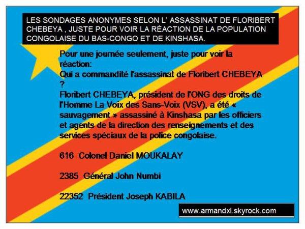 RTNC MALEWA NEWS: QUI A COMMANDITÉ L' ASSASSINAT DE FLORIBERT CHEBEYA?