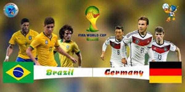 L'Allemagne enterre le Brésil et crache sur sa tombe (7-1)