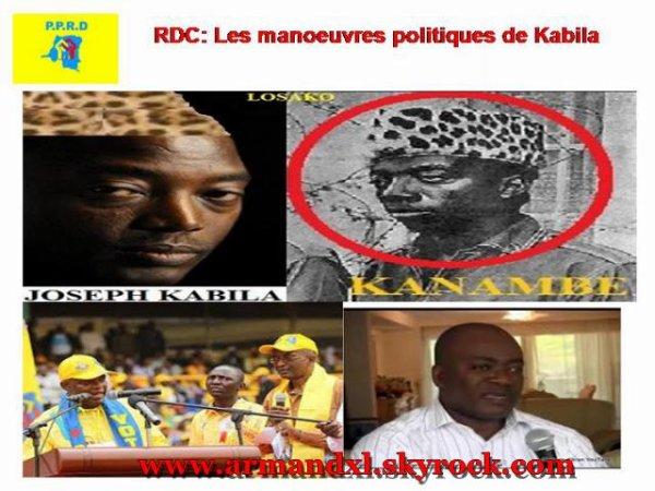 RDC: Les manoeuvres politiques de Kabila