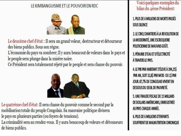 LA VRAIE PROPHÉTIE DU GRAND PROPHÈTE SIMON KIMBANGU SELON MES RECHERCHES