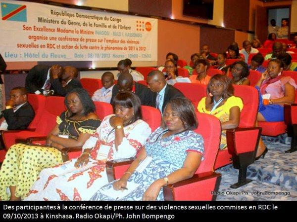RDC : environ 1 200 cas de violences sexuelles basées sur le genre rapportés à la justice en 2016