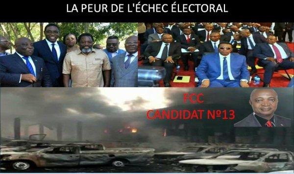 RDC : Du matériel électoral consumé dans un incendie à Kinshasa