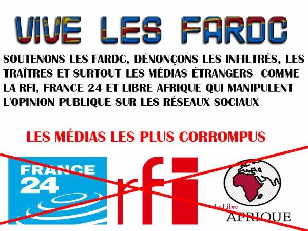 RDC: ATTENTION À LA MANIPULATION DES MÉDIAS ÉTRANGERS