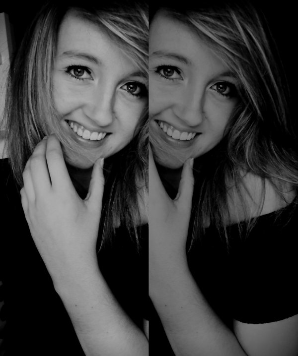 J'ai pas le plus beau des sourires , mais seulement celui qui reflète qui je suis .. ♥