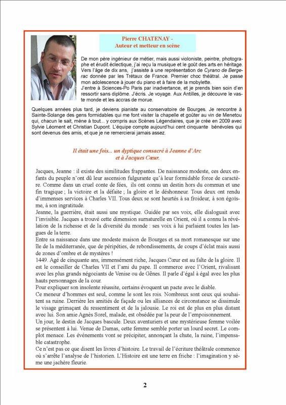 ARTICLE 604 - LE MOT DE PIERRE