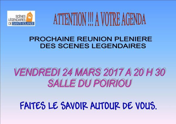 ARTICLE 1036 - REUNION PLENIERE 24.03.2017