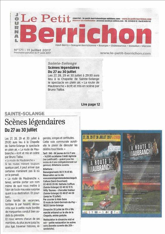 ARTICLE 1048 - LE PETIT BERRICHON