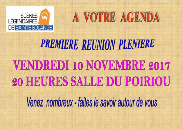 ARTICLE  1084 - REUNION PLENIERE