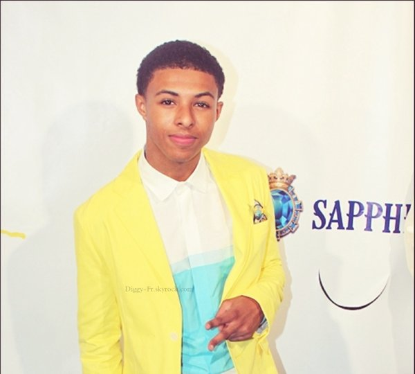"Diggy a l'évènement "" Art for life "" de Russell Simmons"