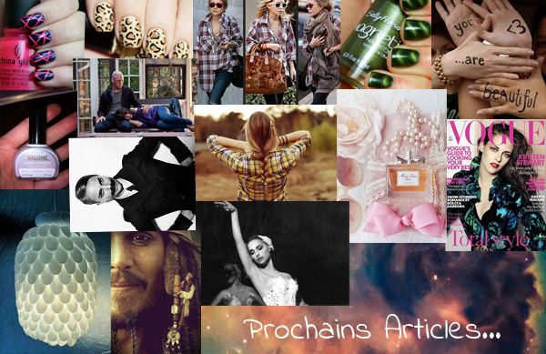 Prochain article & PUB
