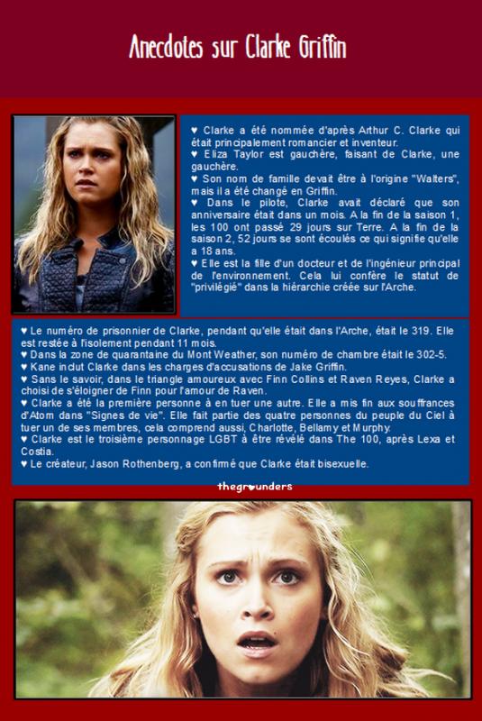 Anecdotes sur Clarke