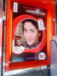 Dédicace de Lauren Oliver à Paris !!!