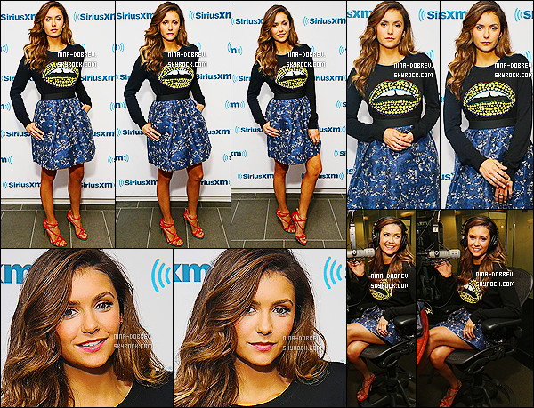 04/08/14 : Nina a donné une interview à  « Access Hollywood » afin de parler de « Let's Be Cops » à New York.