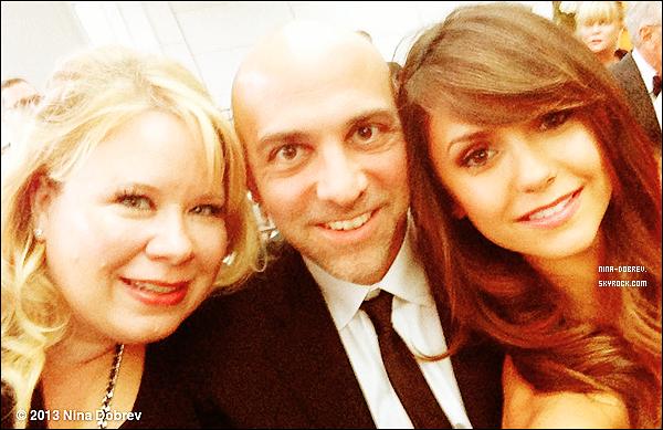 19.05.13 : Toujours à New-York, Nina s'est rendue au mariage de ses amis en compagnie de Julie Plec.