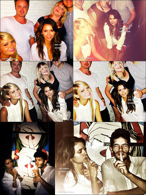 11/06/2013 : Nina s'est rendue au restaurant avec des amis à Atlanta et nous fait partager quelques photos.