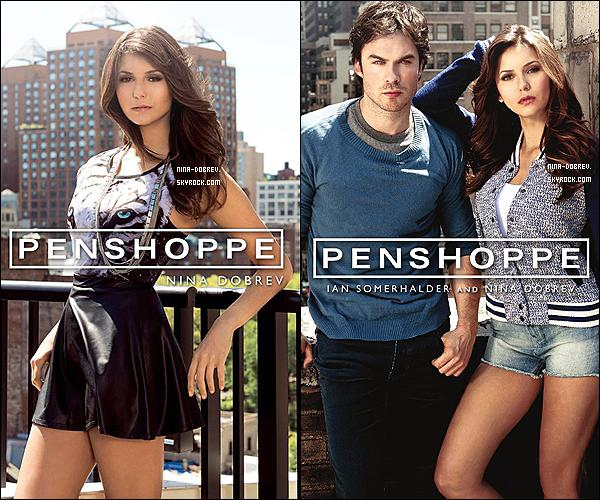 Découvrez deux poster de Nina et Ian pour la marque de vêtements « Penshoppe ».