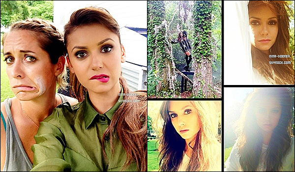 Découvrez le scans ainsi que l'interview qu'a accordé Nina au magazine « TV Guide ».