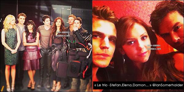 Découvrez quelques photos de N. sur le set de l'épisode 5x02 de  The Vampire Diaries !