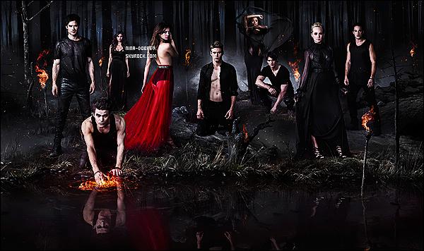 Découvrez les nouvelles photos promotionnelles pour la saison 5 de « The Vampire Diaries ».