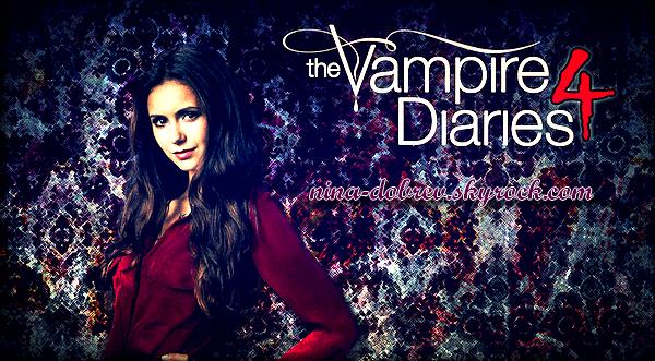 A l'occasion de la sortie du DVD saison 4 de « Vampire Diaries » on te le fait gagner !