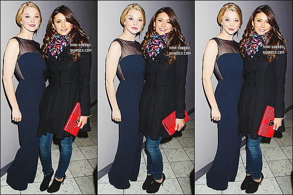 26/10/2013 :.  Nina était à la soirée d'ouverture du « Savannah Film Festival 2013 » qui a eu lieu en Géorgie.