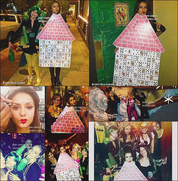 27/10/2013 :.  Nina et ses co-starts de TVD se sont rendus au « Savannah Film Festival 2013 » en Géorgie.