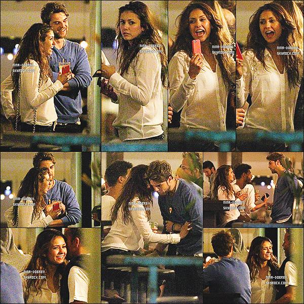 02/01/2014 : Nina  a été aperçue dans un restaurant mexicain à Sydney en compagnie de Nathaniel Buzolic.