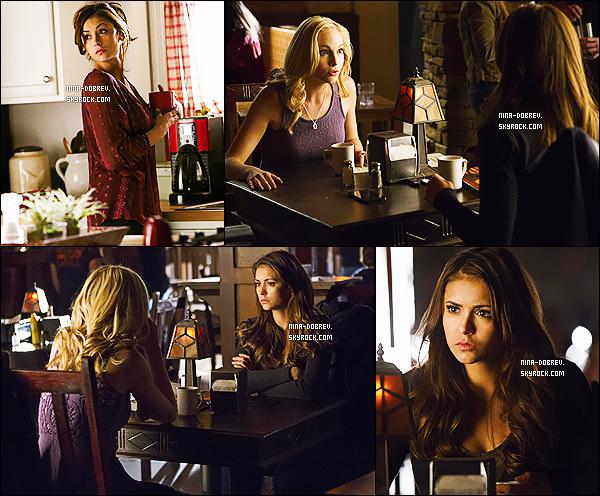 01/04/14 : Nina Dobrev parle de la saison 5 de The Vampire Diaries dans l'émission canadienne « E-Talk » !
