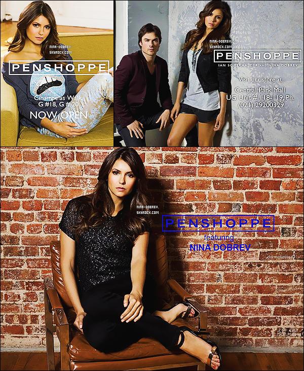 Découvrez trois posters de Nina et Ian pour la marque de vêtement « Penshoppe ».