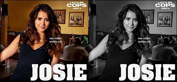 Découvrez un trailer et un poster du film  « Let's Be Cops » dans lequel Nina a jouer.