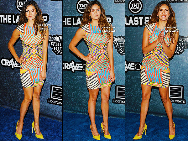 25/07/2014 : la magnifique Nina était au  « CraveOnline Presents : Crave Conquers The Con » à San Diego.
