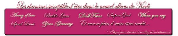 ● Rattrapage des news °{20}  STRANGE - KERLI  Ta principale source francophone sur la chanteuse Kerli Koiv [ Blog music n°1 - Blog music n°2 - Second Fan Blog - Groupe Fans de Kerli Koiv - Newsletter - Page Facebook ] Crea by r0ck-55 déco by Me