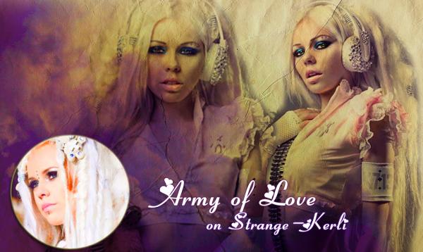 ● News - Army Of Love °{13}  STRANGE - KERLI  Ta principale source francophone sur la chanteuse Kerli Koiv [ Blog music n°1 - Blog music n°2 - Second Fan Blog - Groupe Fans de Kerli Koiv - Newsletter - Page Facebook ]