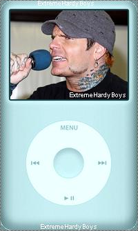 ExtremeHardyBoys > Jeff's IPOD < Your Frensh Source About Jeff Hardy