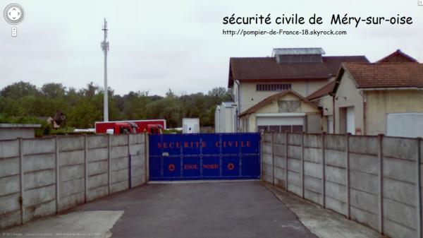 Sécurité civile de  Méry-sur-oise (95)