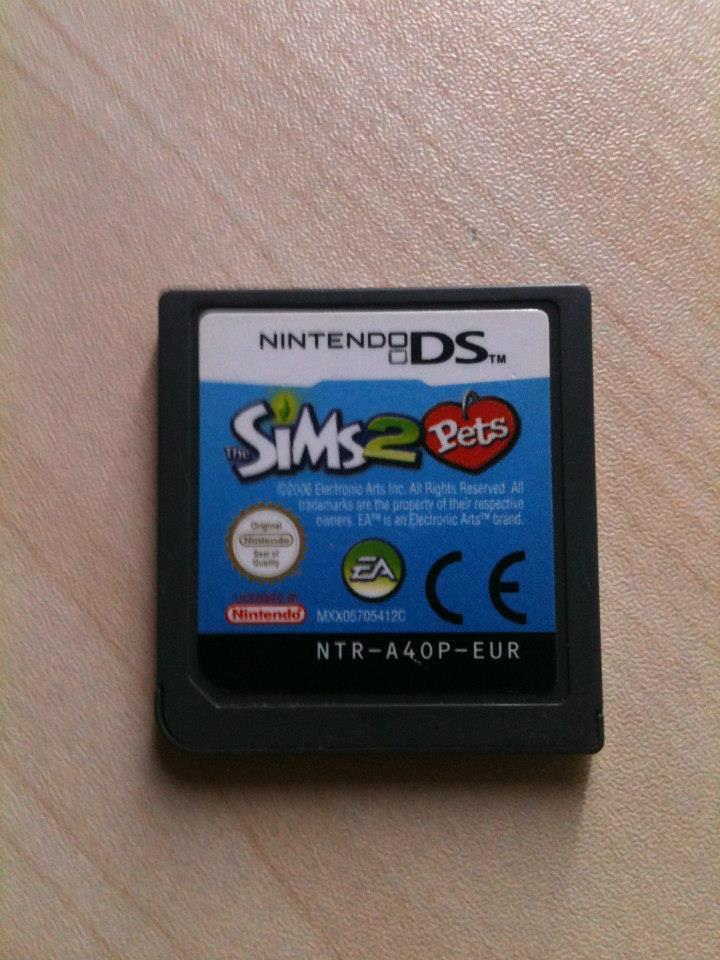 Jeu DS Les Sims 2 Pets