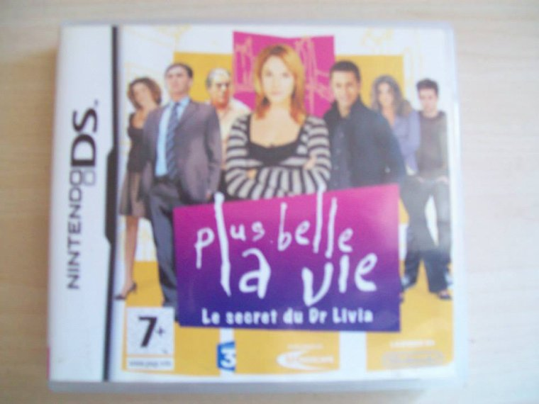 "Jeu DS Plus belle la vie ""Le secret du Dr Livia"""