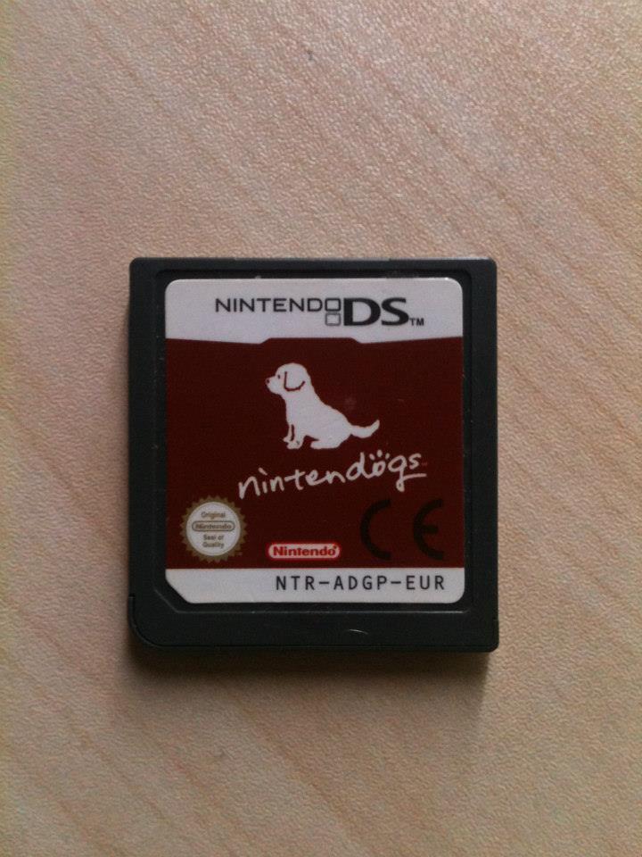 Jeu DS Nintendogs