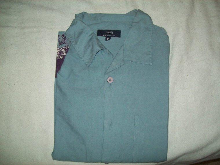 Chemise Homme Bleu-Violet