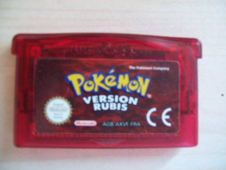Jeu GBA Pokemon Version Rubis