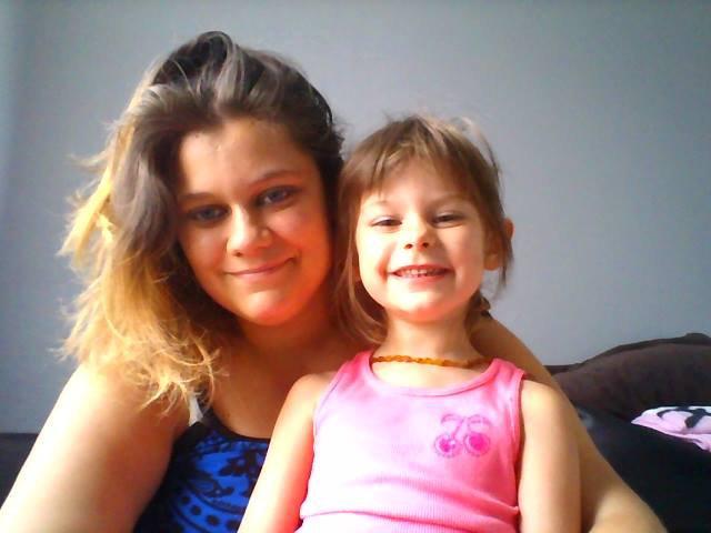 Moi et ma fille <3